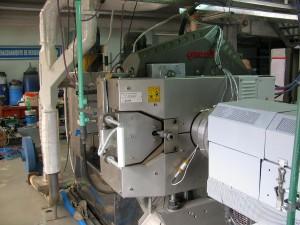Filtriersystem RSFgenius M 150 bei Reteplast in Argentinien. (Foto: Gneuß)