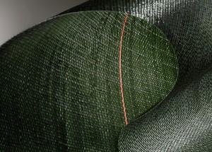 Produktionsrückstände aus Teppichrücken werden mit der Corema-Technologie von Erema zu wiederaufbereitet und zu einem hohen Anteil in den Produktionsprozess zurückgeführt (Foto: Beaulieu Technical Textiles)