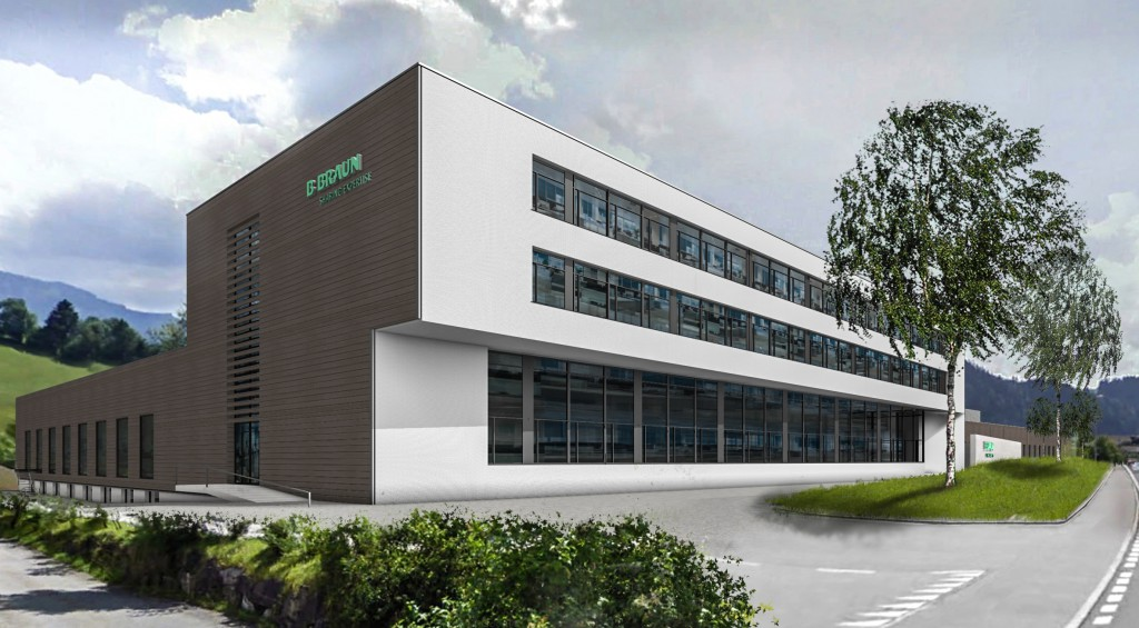 B  Braun Medical: Ausbau in Escholzmatt nach Masterplan | K-AKTUELL de