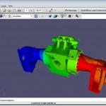 Die 3D-PDF-Modelle lassen sich schnell und komfortabel in PDF-Reports integrieren. (Abb.: CADFEM)