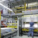 Die neue Fertigungslinie für Kühl- und Gefriergeräte der BSH Hausgeräte in Giengen. (Foto: Hennecke)