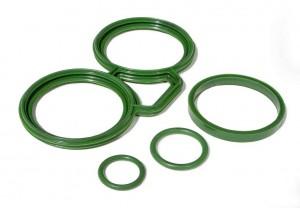 Freudenberg Sealing Technologies produziert Gummidichtungen auf Basis des EPDM-Kautschuks Keltan Eco und reduziert damit seinen CO2-Fußabdruck. (Foto: Freudenberg)