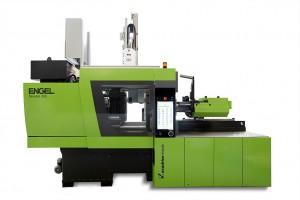 Die neue Spritzgießmaschine flexseal 300 T setzt mit ihren Eigenschaften neue Maßstäbe für die Herstellung von O-Ringen und Flachdichtungen. (Foto: Engel)