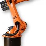 Der neue 6-Achs-Roboter hebt bis zu 20 kg. (Foto: Kuka)