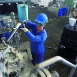 Absauganlagen werden u. a. bei der Verarbeitung von pulverförmigen Materialien eingesetzt. (Foto: Ruwac)