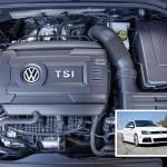 Der schallschluckende Melaminschaumstoff Basotect TG kommt ab sofort zur Geräuschdämpfung im Volkswagen-Motor EA888 für die in Nordamerika gebauten Modelle Jetta, Golf, Passat, Tiguan und Beetle zum Einsatz. (Foto: BASF)