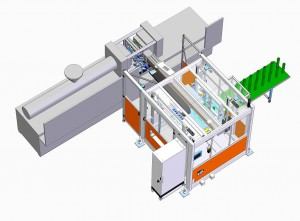 In einem Beck-Flex-System arbeiten zwei Servo-Portale und zwei lineare Hauptachsen für unterschiedliche Produktionsaufgaben. (Abb.: Beck)