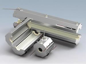 Vorgestellt wird die speziell fürs Thermoformen entwickelte neue Infrarot-Strahlergeneration. (Foto: Freek)