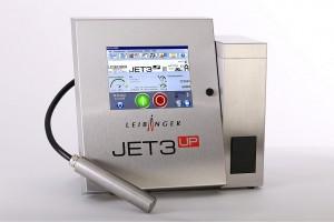 Der neue Jet3up Ink-Jet-Drucker gewährleistet in Kombination mit dem neuen Vision System eine hohe Produktionssicherheit. (Foto: Leibinger)