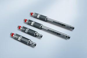Das Quick-Adapter-Set zur effizienten Dichtheitsprüfung wird auf der Fakuma neu vorgestellt. (Foto: Meusburger)