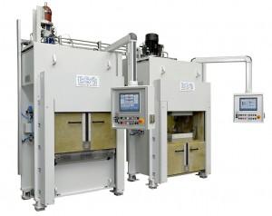 BBG liefert an ACE für die Fertigung von CFK-Fensterrahmen in einem ersten Schritt zwei Formenträgersysteme BFT-C als Presse, eine Inmould- und eine Demould-Werkzeug-Wendestation. (Foto: BBG)