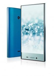 Das biobasierte PC Durabio wird für das Touchdisplay des Smartphones Aquos Crystal 2 eingesetzt. (Foto: MCPP)