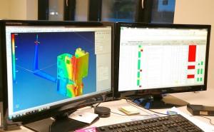 Mit dem Simulationstool VISI Flow werden direkt aus dem 3D-CAD Modell heraus alle Phasen des Thermoplastspritzgießens analysiert, um so unter anderem die optimale Angussgeometrie festzulegen sowie Schwindung und Verzug zu untersuchen. (Foto: Mecadat)