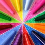 Grafe: Farbcompounds zur Herstellung von Wachsmalstiften