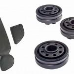 Die neuen Styrol-TPEs sind für Autoinnenanwendungen, wie Ablageauskleidungen oder Reglerknöpfe, geeignet. (Foto: Teknor Apex)