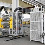 Die zweite Baureihe der mechatronischen Glättwerke von Reifenhäuser Cast Sheet Coating ist für die Herstellung von PS-, PP- und Barrierefolien im Leistungsbereich zwischen 400 kg/h und etwa 1.200 kg/h ausgelegt. (Foto: Reifenhäuser)