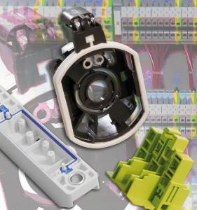 Ein breites Portfolio an Compounds auf Basis von PA, PBT, PC sowie an TPEs bietet PTS für den Bereich E+E. (Foto: PTS)