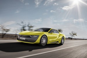 """Das Concept Car """"Ʃtos"""" vereint das Thema selbstfahrendes Auto mit optischen Highlights und technischen Spielereien. (Foto: Barlog)"""