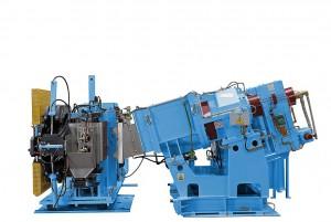Roll-ex 300 DSE mit einem Durchsatz von 3.000 kg/h. (Foto: Uth)