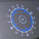 Die erweiterte 3-dimensionale Formbarkeit der Touchskin-Bedienpaneele erlaubt die organische Integration von Sensorflächen in Geräteoberflächen für den Haushalt und in Automobilen. (Foto: Plastic Electronic)