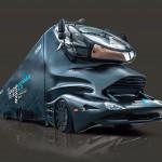 Mit dem Truck im Colani-Design geht es auf Europa-Tour. (Foto: Desma)