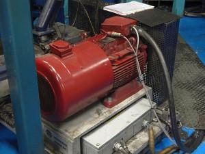Zum Einsatz kam ein neuer energieeffizienter IE4 LSRPM-Motor. (Foto: Emerson)