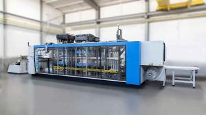Druckluftformanlage Speedformer KMD 78 Speed. (Foto: Kiefel)
