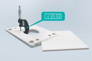 Mit 0,02 mm Parallelität bietet Meusburger jetzt einen neuen Standard bei Wärmeschutzplatten. (Foto: Meusburger)