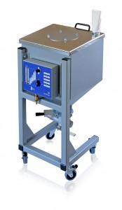 Der Beschleierungsbehälter BB 60 ist passend für 25-kg-Säcke. (Foto: Motan)