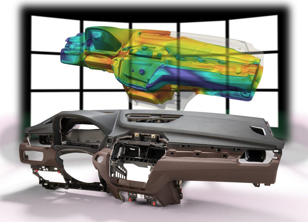 Basf Simulation Von Pur Sch Umen F R Den Autoinnenraum K