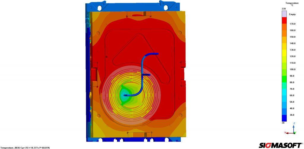 Die virtuelle und die reale Produktion von Ursula zeigt Sigma Engineering auf der K 2016 (Abbildung: Sigma Engineering)