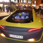 Blickfang des 20. EKTT: das Concept Car Rinspeed Etos. (Foto: K-Aktuell)