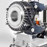 Das automatische Rohrwechselsystem Quick Switch gibt es nun auch in groß: für Rohre in einem Durchmesserbereich von 280 bis 500 mm. (Foto: Krauss Maffei Berstorff)
