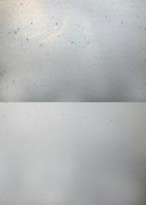 Oben Trennung mit Trenntank, unten Trennung mit Hydrozyklon – bei identischem Input. (Fotos: Herbold Meckesheim)