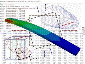Kurzfaserverstärkte Polymerbauteile lassen sich mit der im LBF entwickelten, reduzierten integrativen Simulation schon in der Vorauslegung einfach und effizient berechnen (Abbildung: Fraunhofer-LBF)