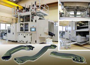 Thermogeformte, leichte und flexible Pkw-Luftführungskanäle in anspruchsvoller 3D-Geometrie aus XLPE-Schaumfolie: Der spanische Automobilzulieferer stellt sie serienmäßig im Twinsheet-Verfahren her. (Fotos: Illig)