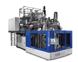 Die neue auf der K vorgestellte Kanistermaschine KBB 400 ist bereits an den Kunden AST Kunststoffverarbeitung GmbH verkauft. (Foto: Kautex Maschinenbau)