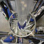 Die 7-Schicht-Micro-Anlage lässt sich universell für unterschiedlichste Blasfolien mit bis zu sieben Schichten einsetzen. (Foto: Polyrema)