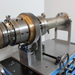 Kühlmischer P1 mit Ringdüse Q1 für die Herstellung von Leichtschaumfolien. (Foto: Promix)