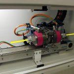 Der Orbitalschneider OC-15 sorgt für einen rechtwinkligen Schnitt, saubere Schnittflächen und verhindert eine Produktdeformation. (Foto: Schlicht)