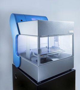 Der 3D-Drucker EVOlizer kann eine große Vielfalt an Materialien verarbeiten. (Foto: EVO-tech)