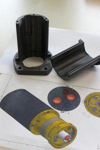Die additiv gefertigten Bauteile benötigen außer dem Schneiden der Gewinde keine Nacharbeit und sind sofort einsetzbar. (Foto: EVO-tech)