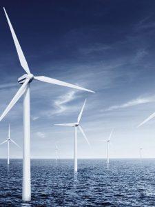 Aus Brandschutzgründen ist der Einsatz von Ummantelungen aus Levapren für Kabel in Offshore-Windparks vorteilhaft. (Foto: Arlanxeo)