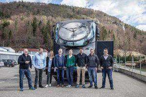 Zum Finale der Desma Inspiration Tour 2016 wird der Roadshow-Truck im Colani-Design auch zur K nach Düsseldorf kommen. (Foto: Desma)