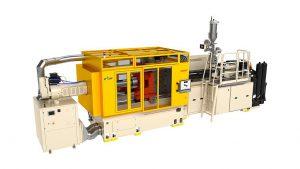 Zur K 2016 führt Husky mit HyCAP4 die nächste Generation von Hochleistungs-Spritzgießsystemen für Getränkeverschlüsse ein. Verbessertes Zusammenspiel der Komponenten sowie geringerer Energieverbrauch zählen zu den Optimierungen. (Foto: Husky)