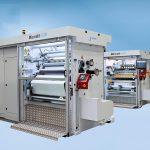 Neben verschiedenen Exponaten wird die Schmalschnittmaschine Microslit ausgestellt. (Foto: Kampf)