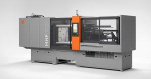 Die neue 3.000-kN-Horizontalmaschine MHF 700D/300 empfiehlt sich für die Produktion von Dichtungen und O-Ringen. (Foto: Maplan)