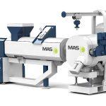 Seine Extruder und Schmelzefilter präsentiert die MAS zum 10-Jahres-Jubiläum in neuem Maschinendesign. (Foto: MAS)