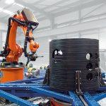 Riexinger: Roboterfräsanlage für große Kunststoffteile