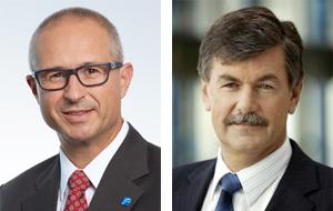 Alfred Stern, Borealis AG, und Roland Roth, Präsident IK (Foto: Borealis und IK Kunststoffverpackungen)